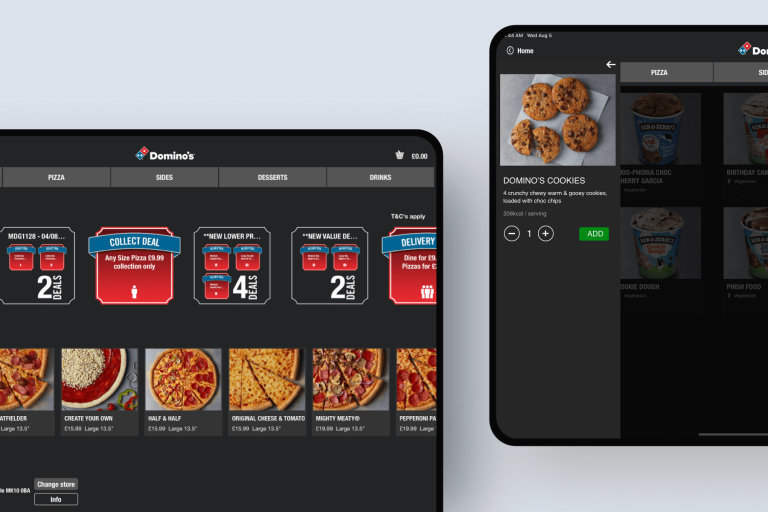 Domino's Pizza digital products