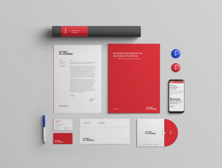 Future Platforms new brand elements