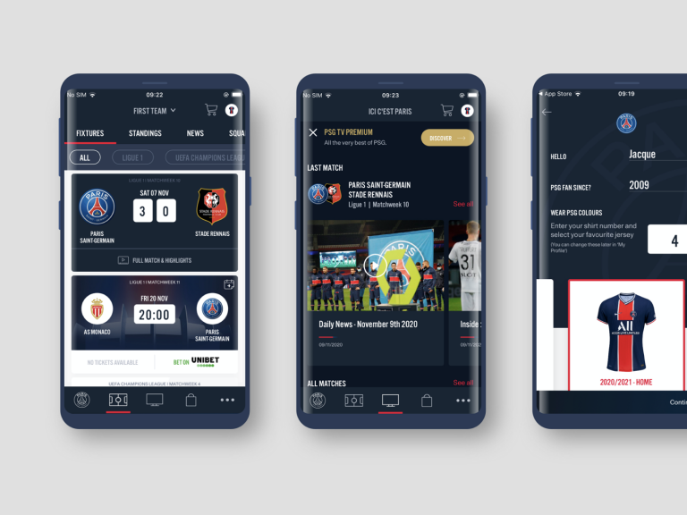 The PSG Official App