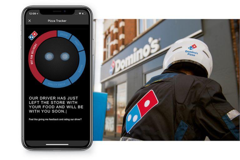 Domino's Pizza pizza tracker