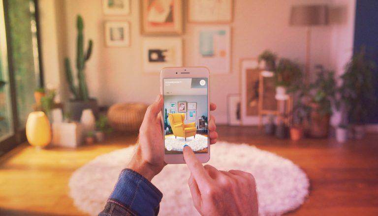 IKEA personalise AR app
